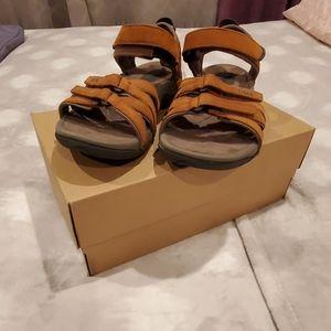 TEVA Tierra leather Sandals